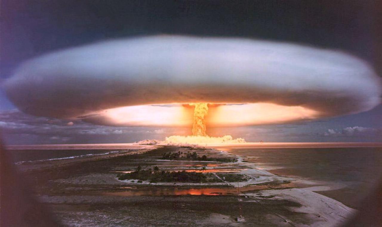 اولین آزمایش بمب هیدروژنی در تاریخ