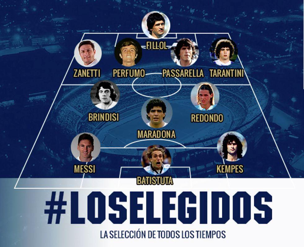 مارادونا و مسی در یک تیم همبازی شدند
