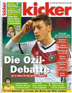 هفته نامه آلمانی کیکر/ اوزیل لژیونرسال فوتبال آلمان