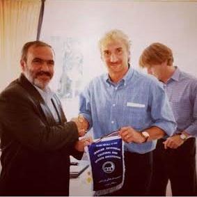 عکس خاطره انگیز مدیرعامل معروف استقلال با رودی فولر