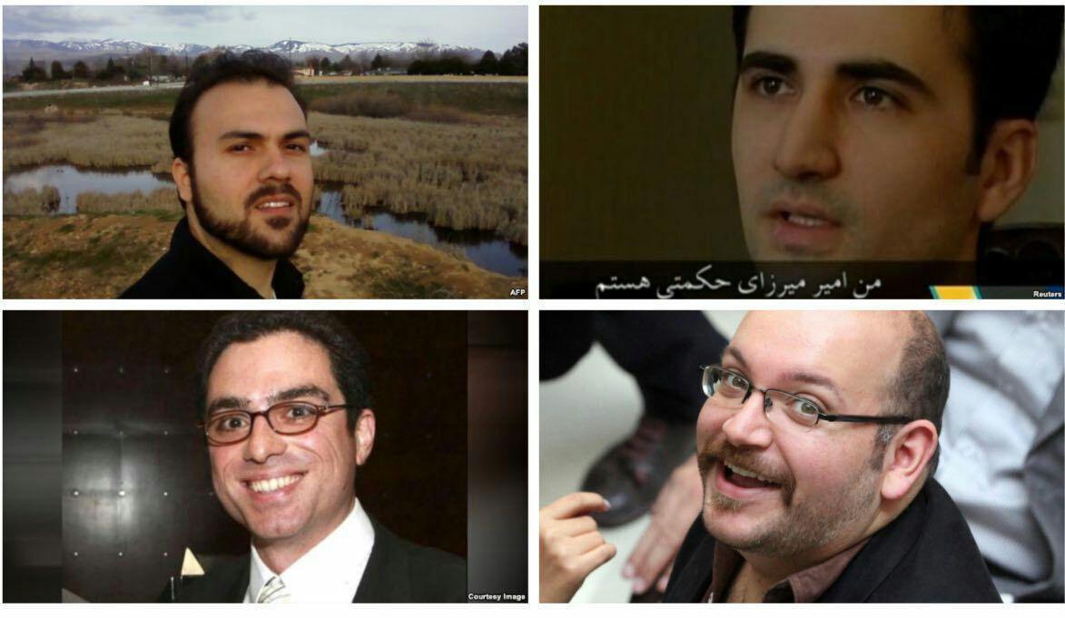 زندانیان ایران و امریکا مبادله شدند+تصاویر