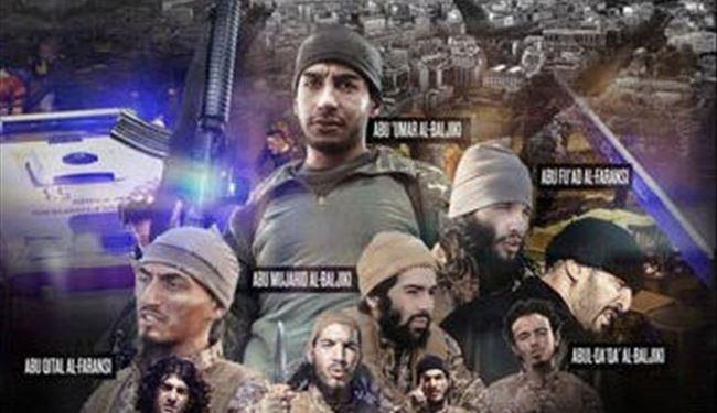 داعش نام عاملان حملات پاریس را منتشر کرد