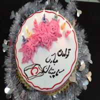 کیک مالی صورت عمران زاده در جشن تولد رحمتی+ عکس