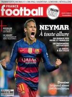 جلد نشریه فرانس فوتبال برای تمجید از نیمار