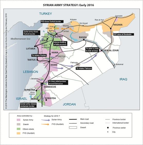 با مختصات حساسترین نبرد در سوریه آشنا شوید + نقشه
