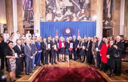 تقدیم مدال ملی صربستان به پروفسور سمیعی