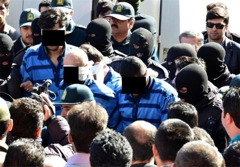 دستگیری اراذل و اوباش مهاجم به خودروها در تبریز