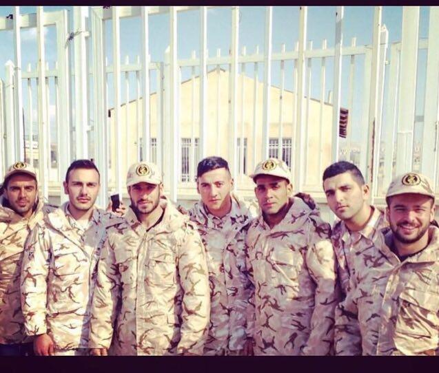 سربازان تراکتور در پادگان تبریز