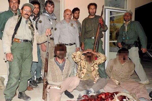 دستگیری شکارچیان منطقه موته