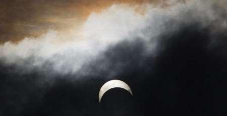خورشید گرفتگی ۹۰ درصدی در مشرق زمین
