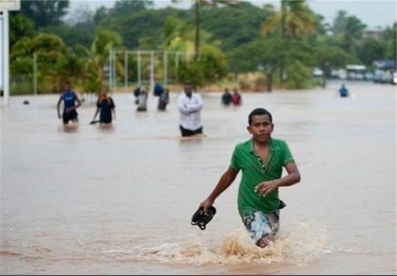 شمار تلفات طوفان فیجی به ۵ تن رسید