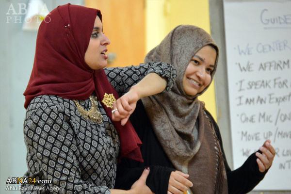 آموزش دفاع شخصی به زنان مسلمان در آمریکا