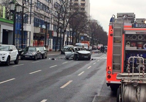 انفجار یک خودرو در برلین