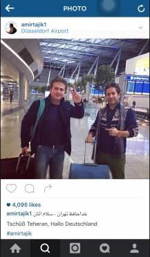 خواننده سرشناس پاپ ایران را ترک کرد