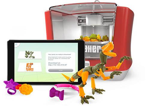 چاپگر سه بعدی برای ساخت اسباببازی