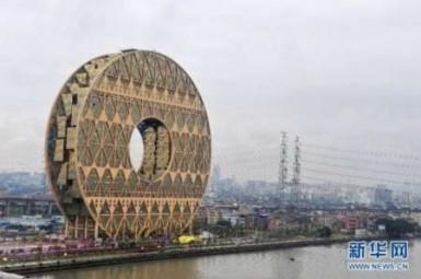 ساخت ساختمانهای عجیب درچین ممنوع شد