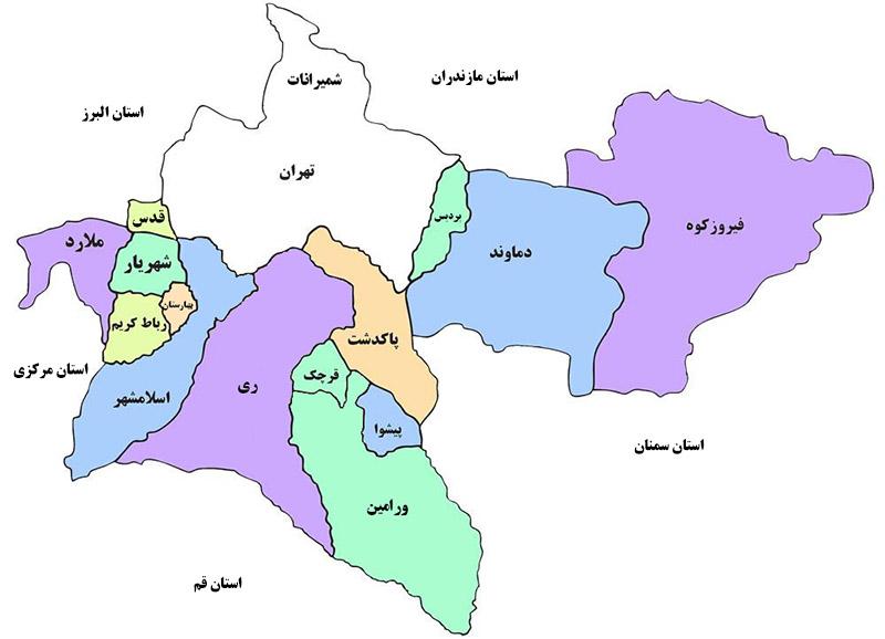 آخرین نتایج انتخابات در استان تهران +جدول