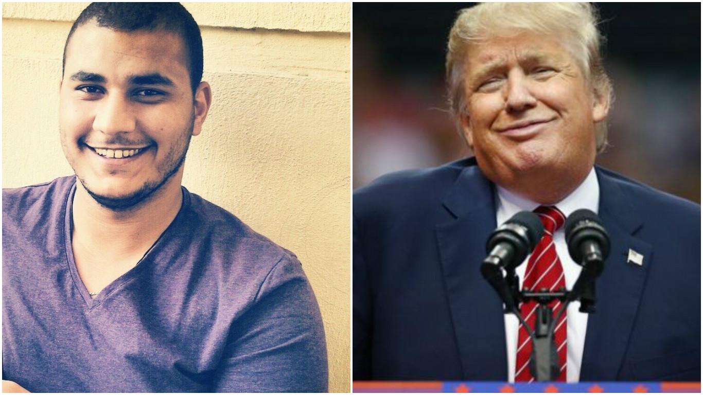 دستگیری دانشجوی مصری به خاطر پست فیسبوکی علیه دونالد ترامپ