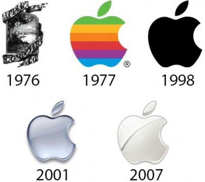 تاریخ بزرگترین شرکت های تکنولوژیک از زبان لوگوها