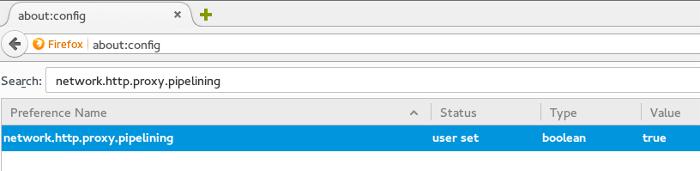 افزایش سرعت فایرفاکس با استفاده از تکنیک HTTP Pipelining