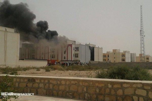 آتشسوزی گسترده در واحدهای مسکنمهر بوشهر