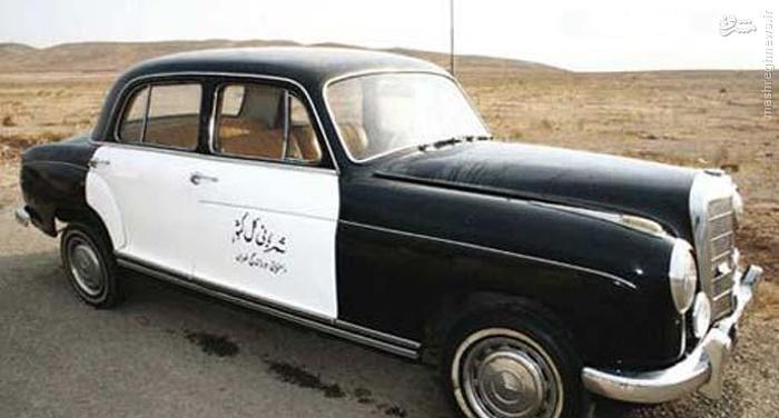 اولین ماشین پلیس ایران