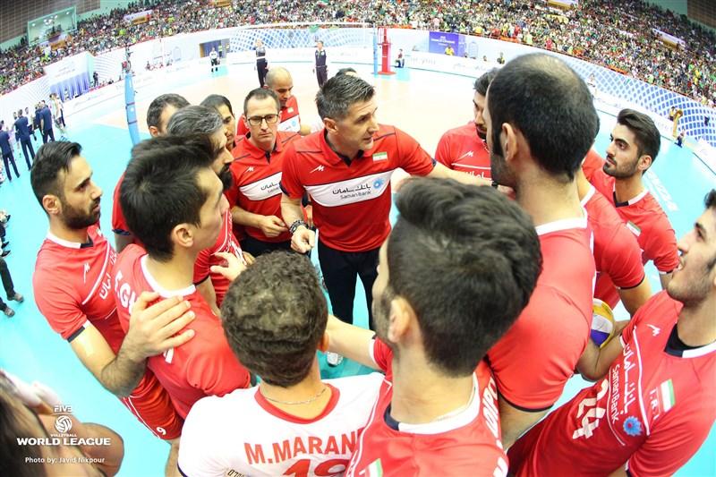 پیروزی تاریخی والیبال ایران برابر آمریکا