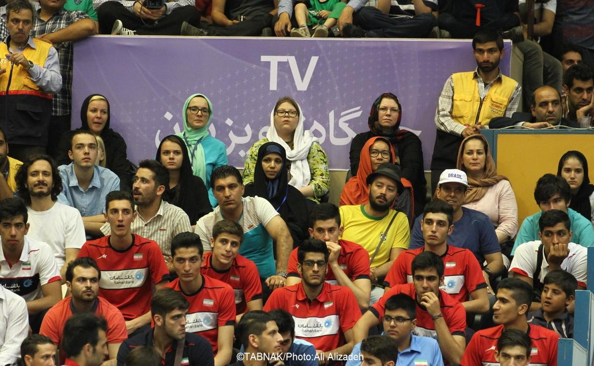 دومین پیروزی قاطع ایران برابر آمریکا در لیگ جهانی