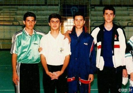 سعید معروف در نوجوانی+ عکس