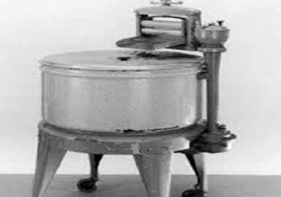 تصویری جالب از اولین ماشین لباسشویی جهان
