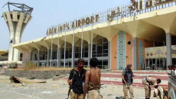 شروع به کار فرودگاه عدن درتصرف عربستان