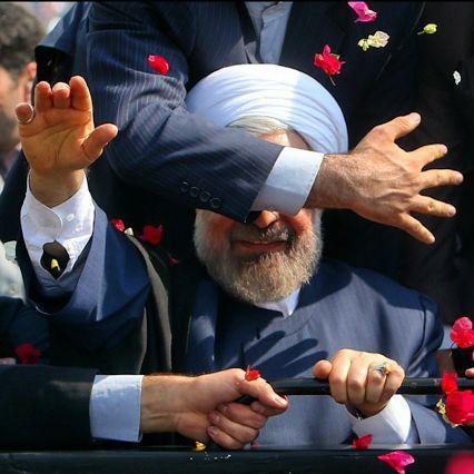حرکت جالب محافظ رئیس جمهور