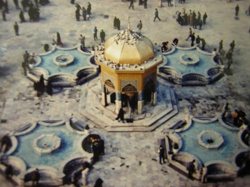 ماجرای ساخت سقاخانه «اسمال طلا»