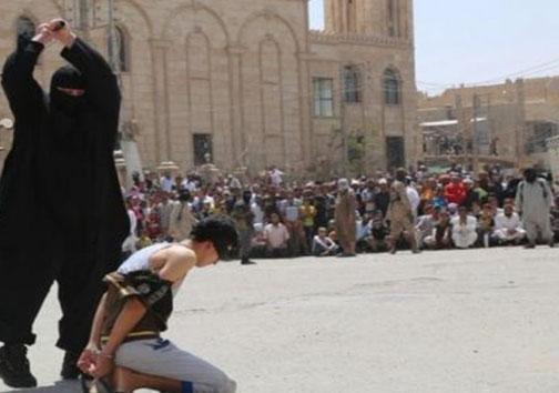 رونمایی از جلاد چاق داعش