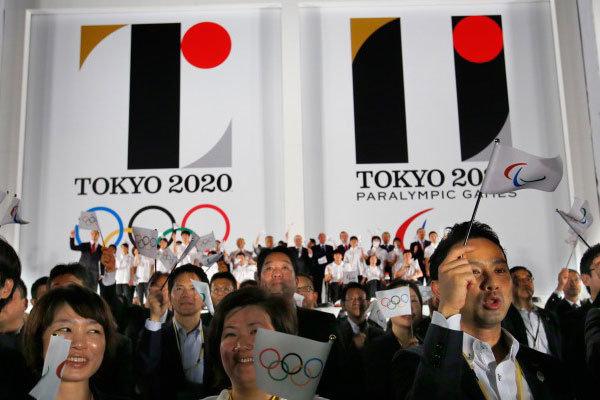 لوگوی المپیک ۲۰۲۰ توکیو پردهبرداری شد