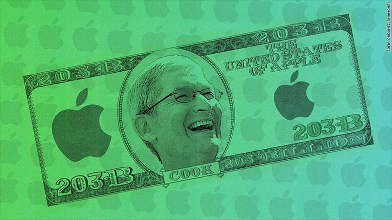 چطور، چرا و چگونه اپل 203 میلیارد دلار ثروت دارد؟