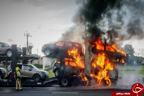 ۱۲۰ هزار دلار در آتش سوخت