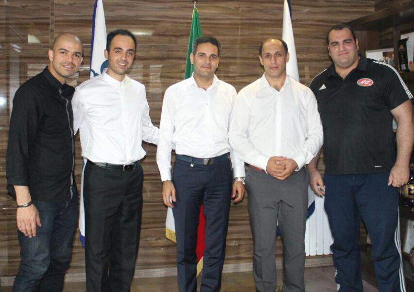 بهداد سلیمی و نصف تیم ملی وزنه برداری در یاسین پیشرو؛