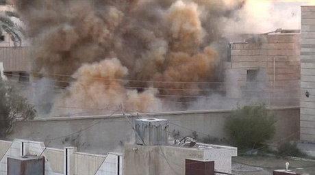 داعش دو نفر را با دینامیت منفجر کرد