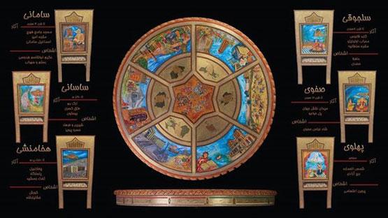 مبل ۲ میلیارد تومانی در برج میلاد!