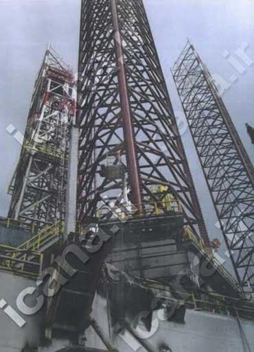 رونمایی از دکل نفتی گمشده و رباینده آن