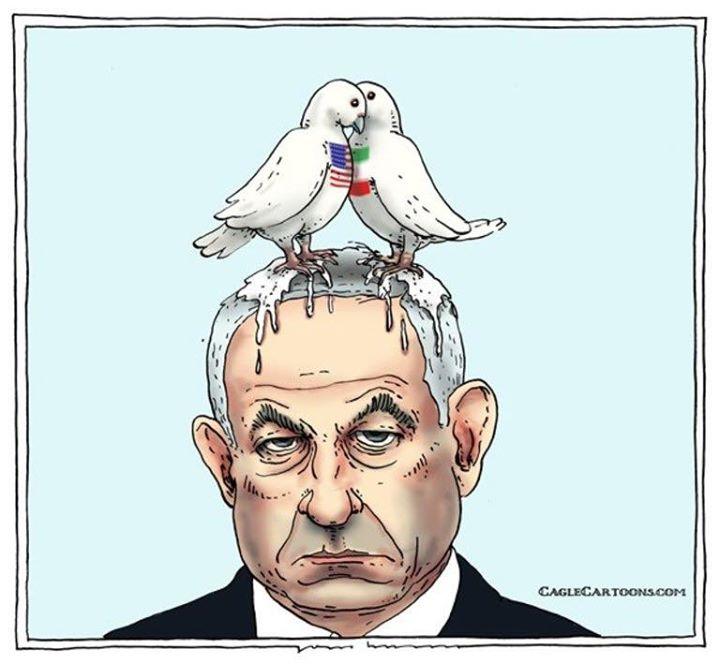 عذرخواهی سوئیس از اسرائیل بخاطر کاریکاتور