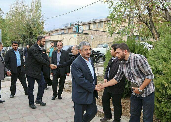 سردار  حسین همدانی در سوریه به شهادت رسید