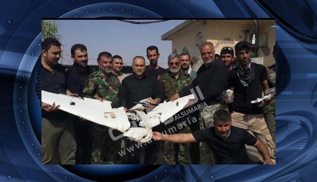 پهپاد داعش در کرکوک سرنگون شد