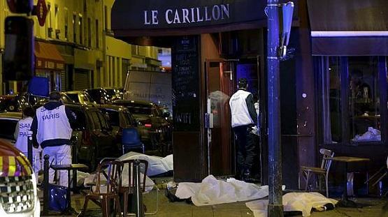60 کشته و 100 گروگان در حملات تروریستی امشب پاریس