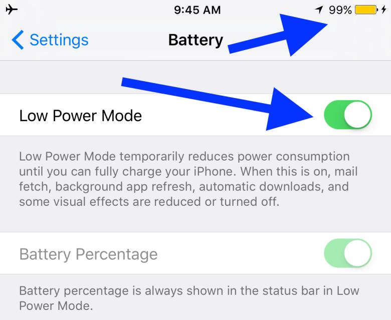 روش هایی ساده برای حداکثر کردن توان باتری آیفون