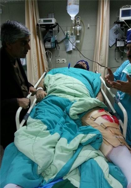 عکس هایی ازبهدادسلیمی بعدازجراحی دیروز