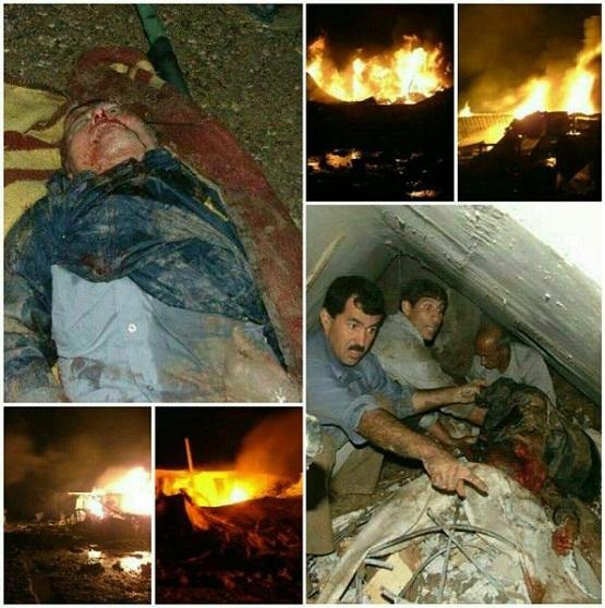 جزئیات جدید از حمله موشکی دیشب به اردوگاه منافقین + عکس
