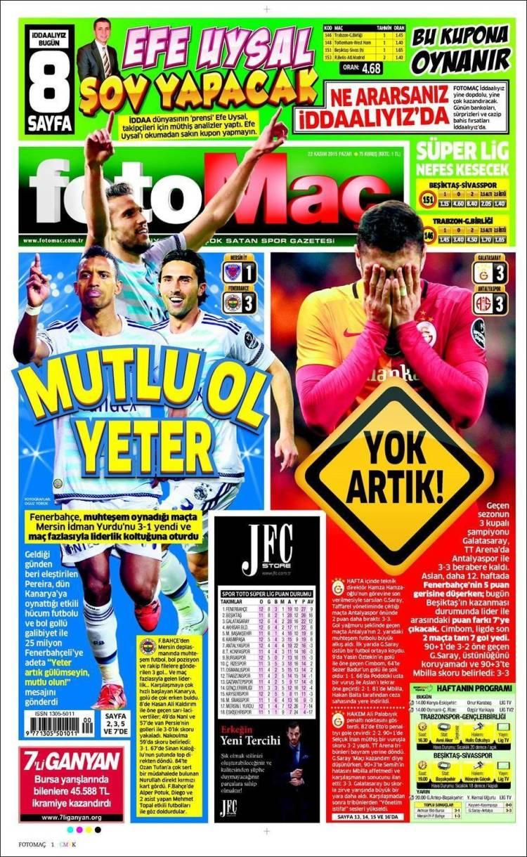 روزنامه های ترکیه/ یکشنبه 22 نوامبر
