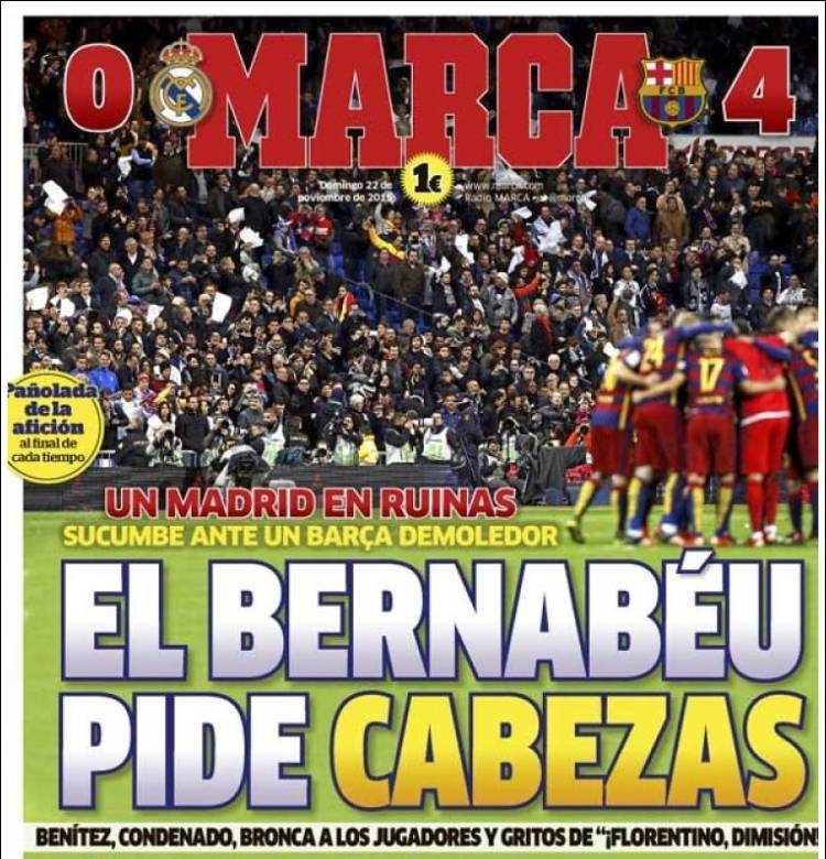 روزنامه های اسپانیا/ یکشنبه 22 نوامبر